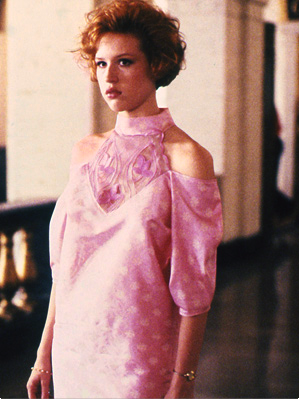 Molly Ringwald dress ambushstudio.blogspot.com