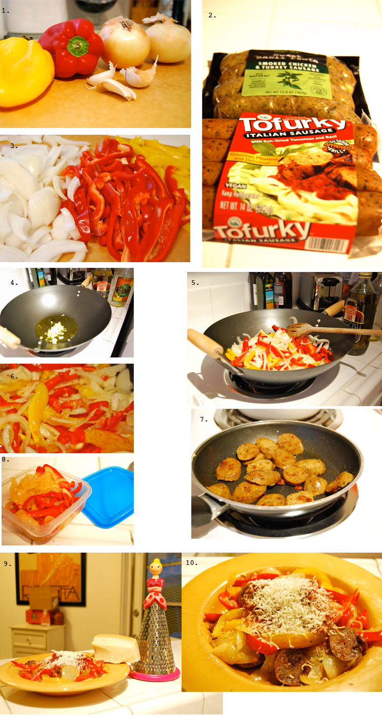 Peppers&onions