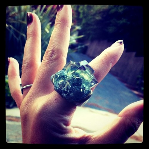8d366131c74a48 i met jewelry designer Adina Mills at the recent Unique LA show (where we  were both vendors) and i was blown away with her organic and gigantic ...