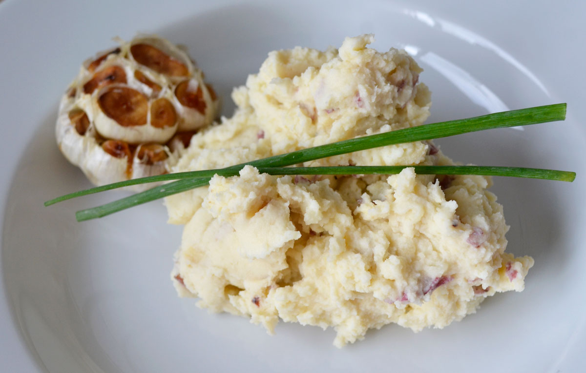 ... roasted garlic roasted garlic mashed potatoes is roasted garlic mashed