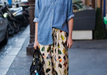 STOCKHOLM-STREET-STYLE-SILK-PAJAMA-PJ-PRINT-PANTS-BAIT-FISH-HOOK-DENIM-BUTTON-UP-DOWN