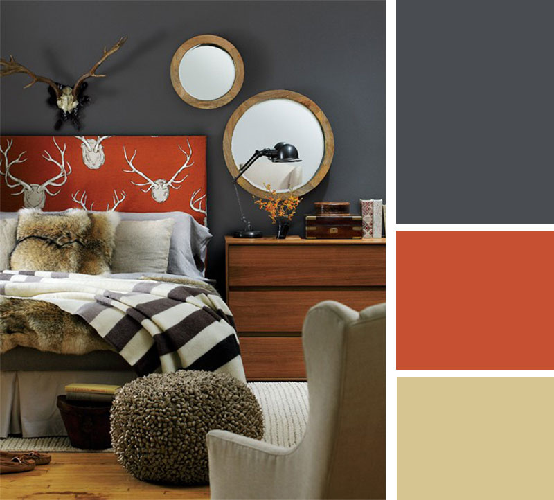 Mr Kate color palette cozy grey