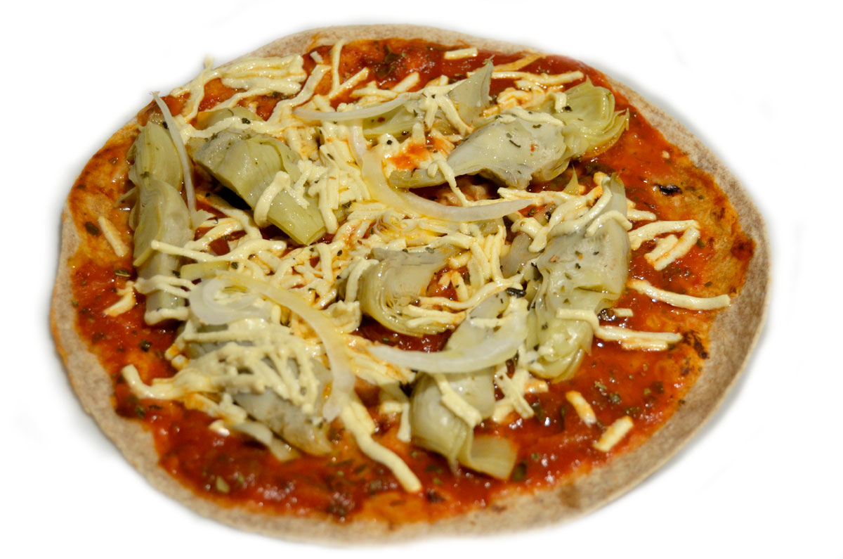 Mr. Kate - easy dinner: tortilla pizzas!