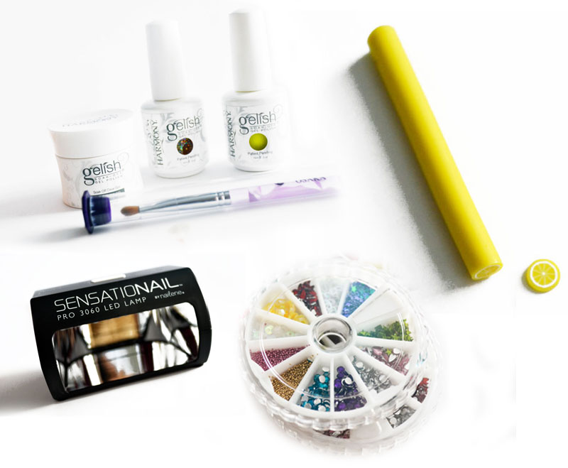 Gel Manicure Supplies…
