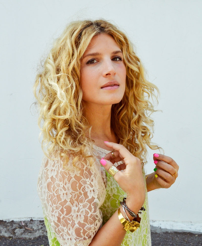 Mr. Kate  tutorial: how i style my naturally curly hair