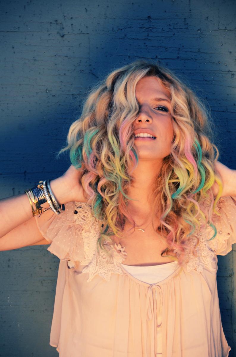 DIY Colofrul (Pastel) Hair Tips ...