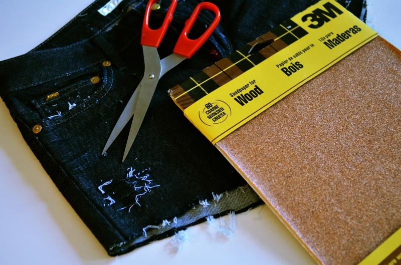 denimshortsbefore 3 DIY: The Perfect Jean Shorts