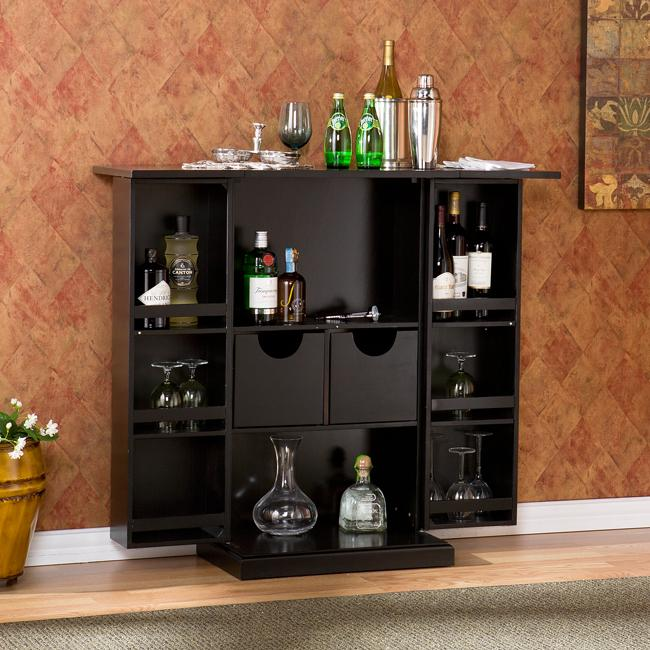 Mr kate ask mr kate how to create an organized home bar for Home bars furniture ikea