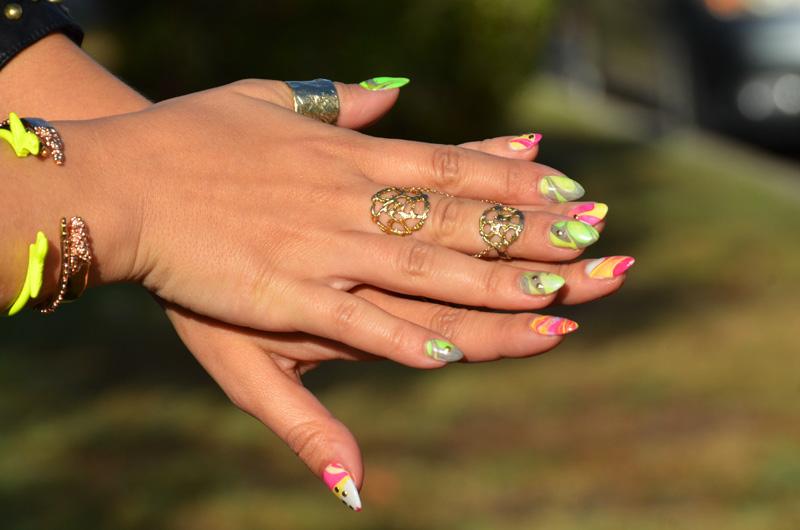 Mr. Kate - DIY marble nail art tutorial
