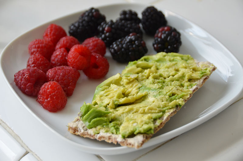 how to eat avocado as a snack