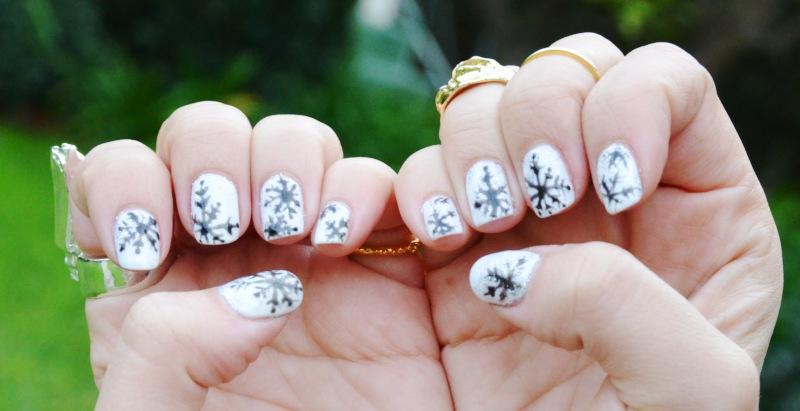 Mr Kate Diy Nails Winter Wonderland Snowflakes