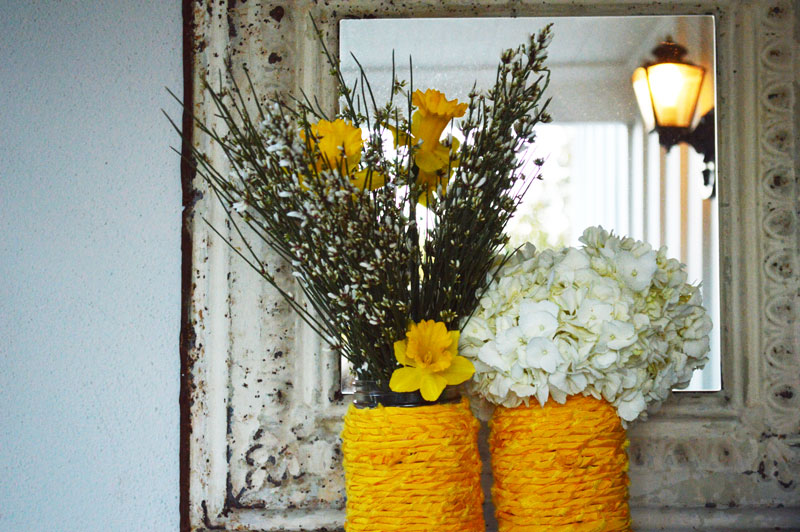 Mr Kate Diy Fabric Wrapped Vase