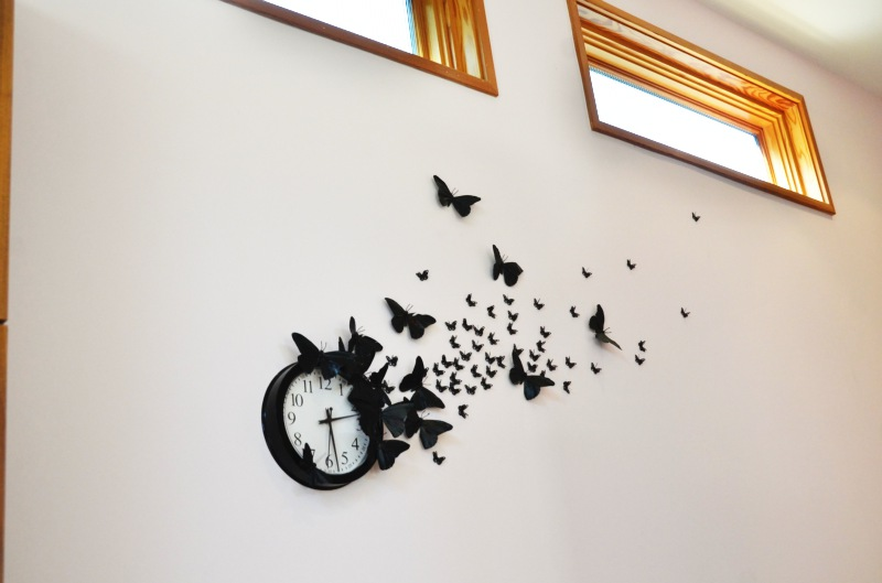 Бабочки на стене из бумаги руками своими руками фото 265