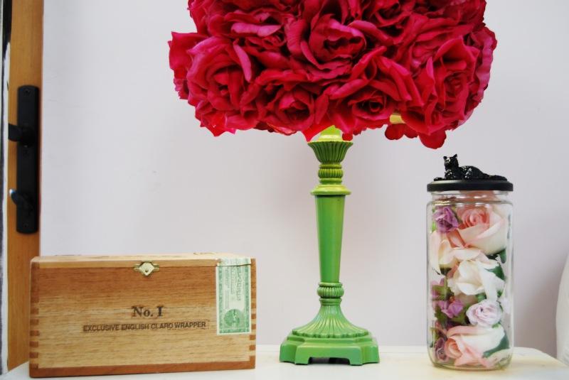 Mr Kate Diy Faux Flower Lampshade