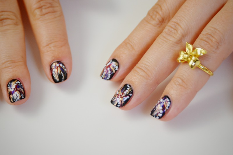 Mr kate diy firework nail art im very excited to debut the first episode of my new series beauty bite with mr kate on the platforms youtube channel ill be doing a series of short prinsesfo Images
