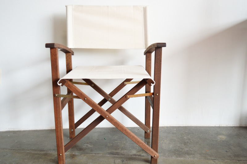 Delicieux DIY Painted Canvas Chair