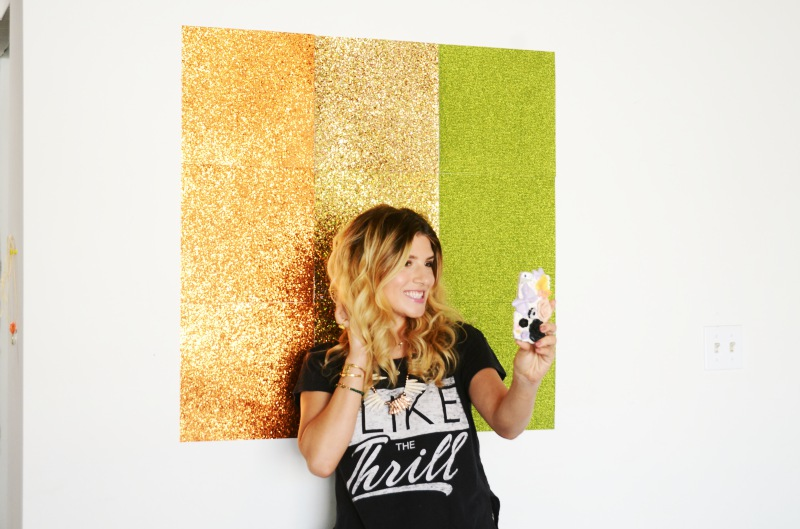 Mr Kate Diy Thanksgiving Fall Selfie Wall