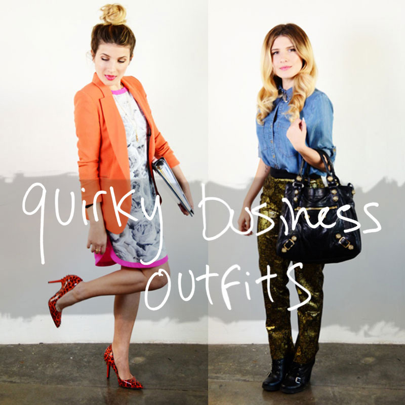 Mr. Kate - styling quirky business outfits