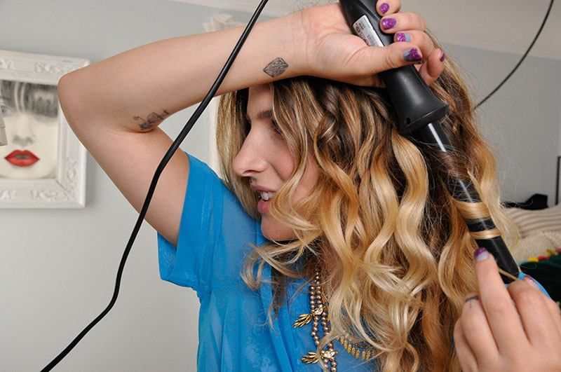 bed head curling wand 1