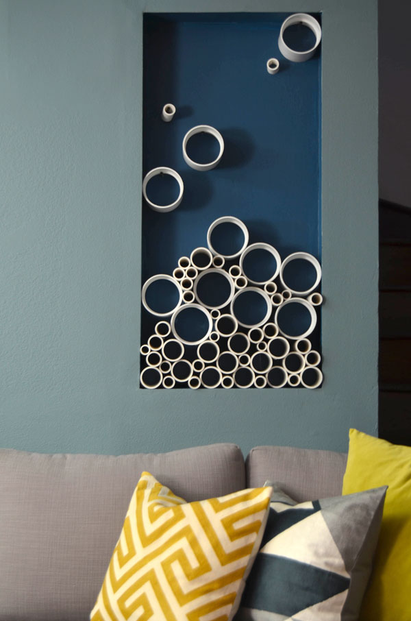 Mr Kate Diy Pvc Pipe Sculptural Art