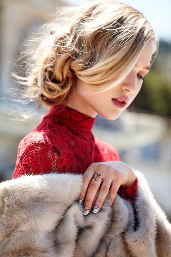 Mr. Kate Tuxedo Ring