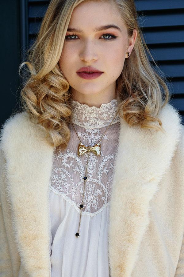 Mr. Kate Tuxedo Convertible Necklace
