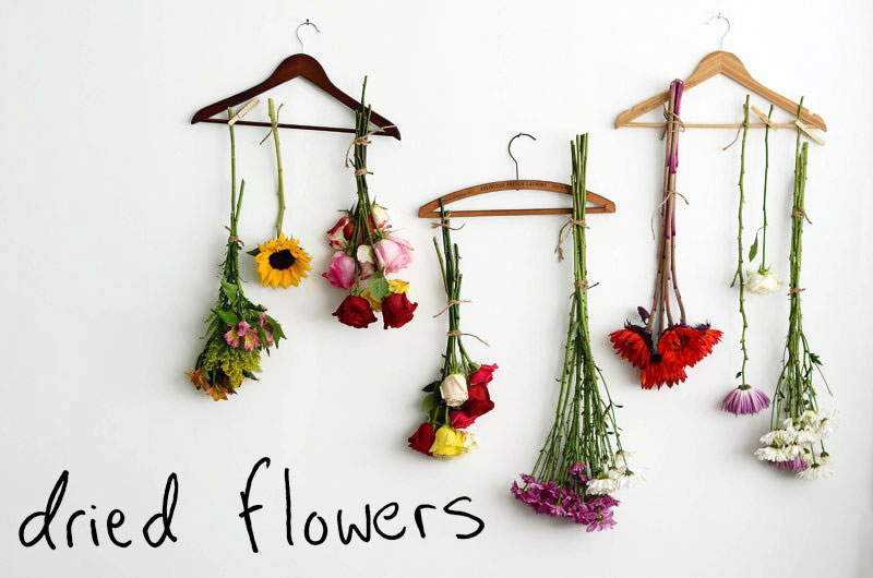 Mr. Kate - DIY dried flowers