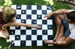 DIY Crystal Checkerboard
