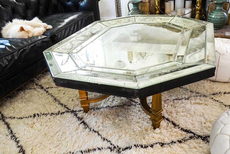 Diy Mirror Top Coffee Table Addicts